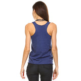 Navy Tri-Blend Racerback Tank Top - Lady Tank