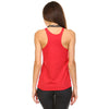 Red Tri-Blend Racerback Tank Top - Lady Tank
