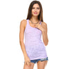 Lavender Burnout Racerback Tank Top - Lady Tank