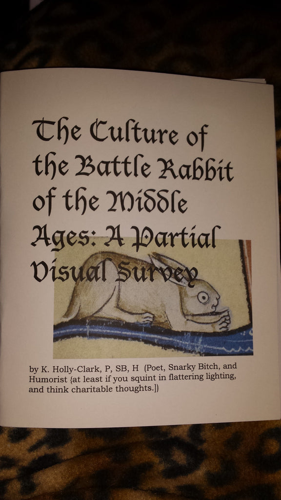 The Culture of the Battle Rabbits of the Middle Ages: A Partial Visual Survey by K. Holly-Clark - Antika Nueva