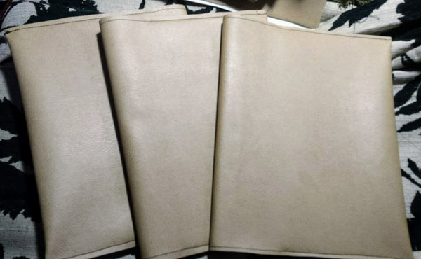 Upholstery-Covered Composition Book Journals - Antika Nueva