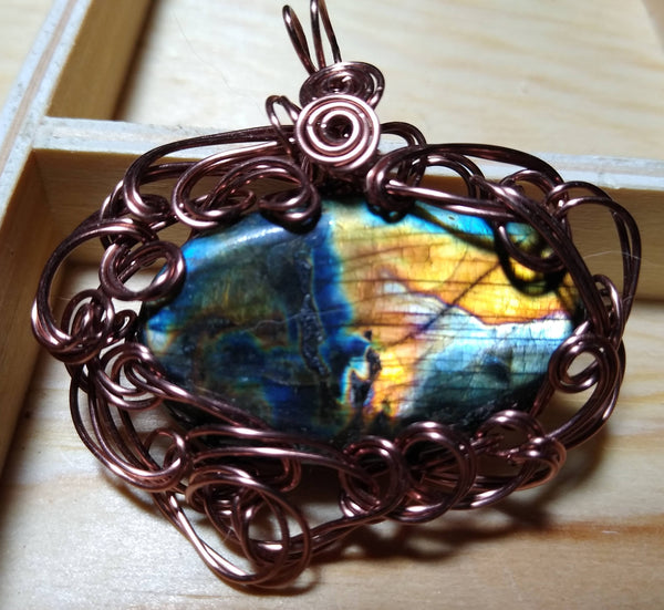 Map of the Neverwas Labradorite Pendant