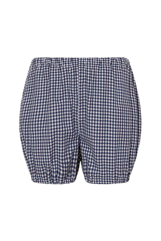 Navy gingham bloomers