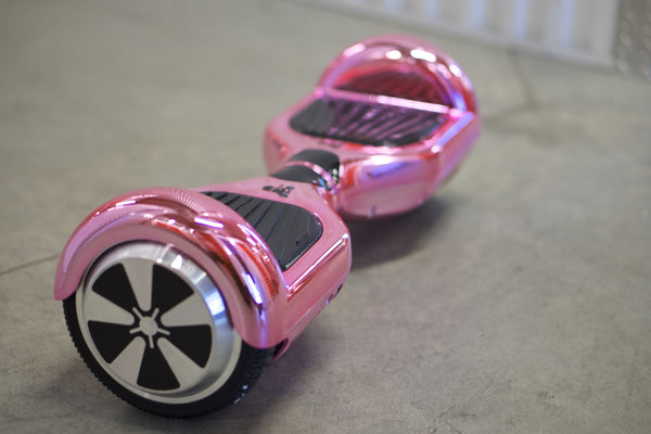 Pink Chrome Hoverboard