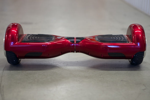Red - Chrome (with Bluetooth Speakers)