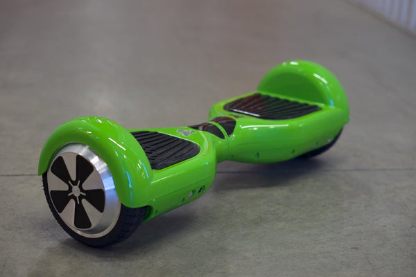 Green Self Balancing Scooter Hoverboard