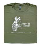 Saint for Losers - St. Anthony of Padua T Shirt  © - That One Sheep