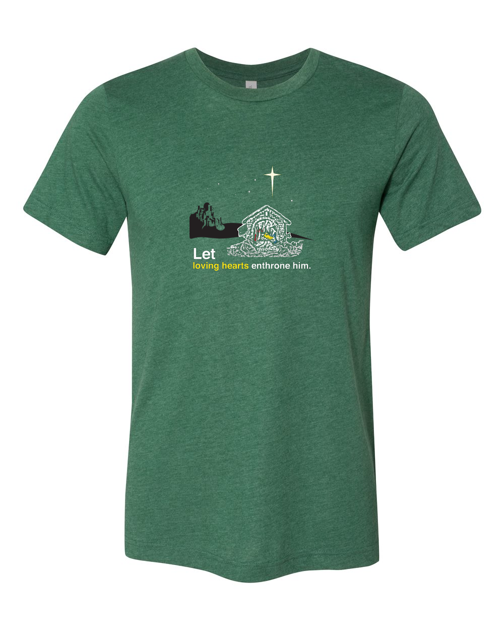 Holy Night - Christ's Nativity T Shirt - That One Sheep