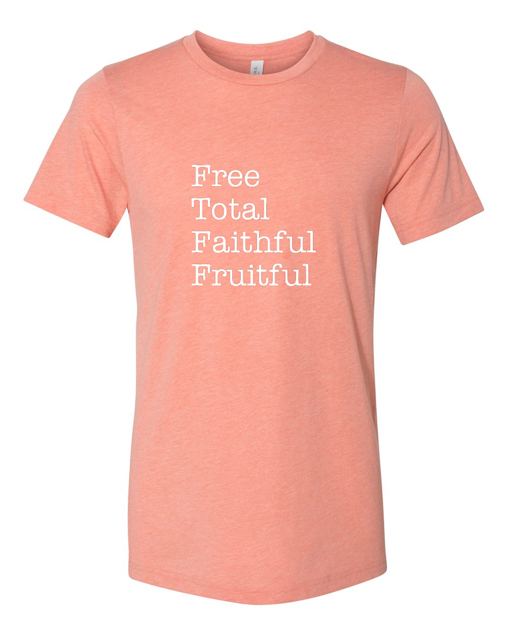 Free Total Faithful Fruitful - Theology of the Body T Shirt - That One Sheep