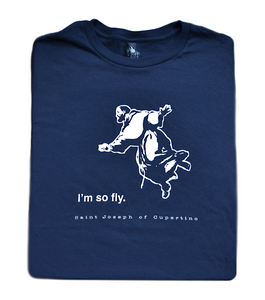 So Fly - St. Joseph of Cupertino T Shirt  © - That One Sheep