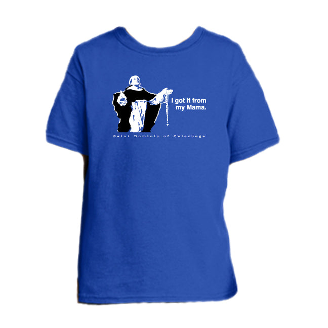 Rosary Reception - St. Dominic Youth T Shirt  © - That One Sheep