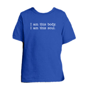 Body/Soul Composite - Human Integrity Youth T Shirt  © - That One Sheep