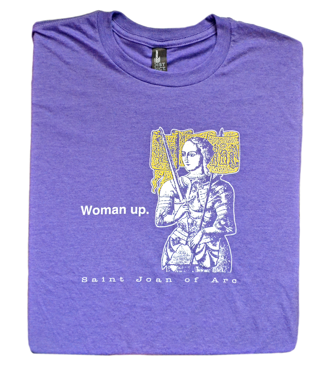 Armored Heroine - St. Joan of Arc T Shirt  © - That One Sheep