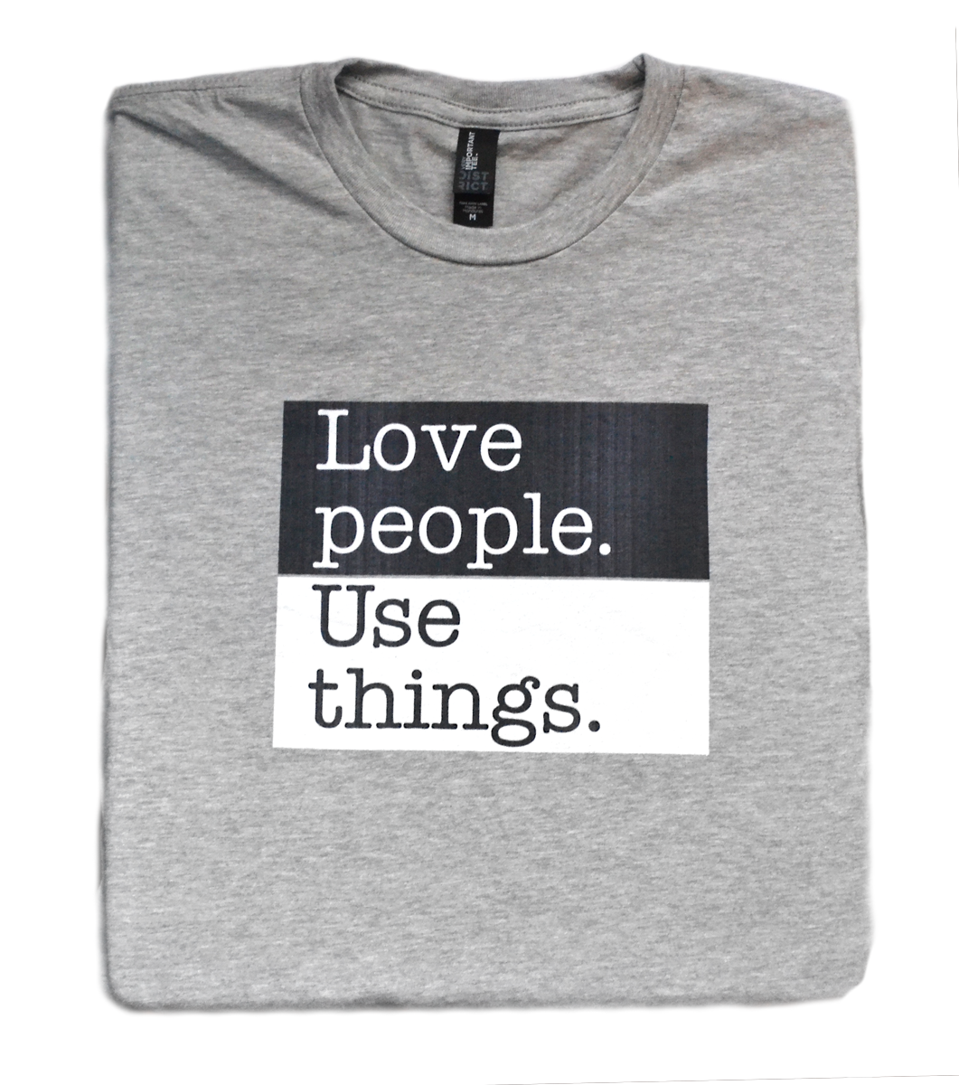 Standards of Humanity - Love T Shirt  © - That One Sheep