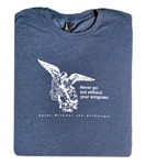 Defend Us in Battle - St. Michael the Archangel T Shirt  © - That One Sheep