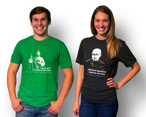 Summa to Talk About - St. Thomas Aquinas T Shirt  © - That One Sheep