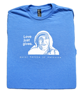 Mother's Love - St. Teresa of Calcutta T Shirt  © - That One Sheep