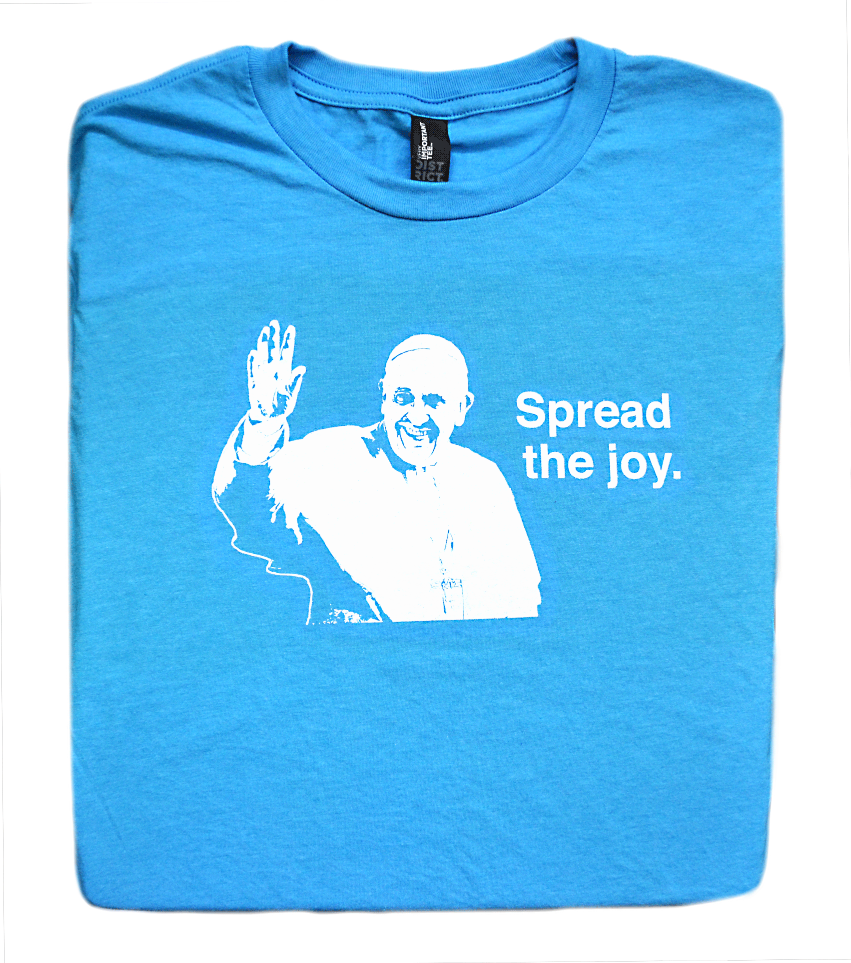 Joy to the World - Pope Francis T Shirt  © - That One Sheep