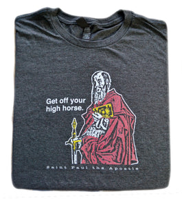 To Damascus and Beyond – St. Paul the Apostle T Shirt  © - That One Sheep