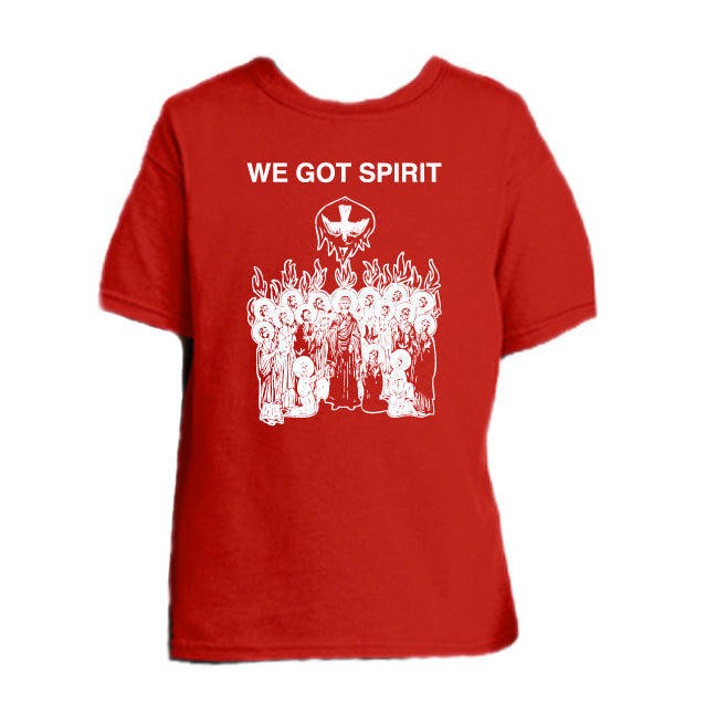 We Got Spirit, Yes We Do - Pentecost Youth T Shirt  © - That One Sheep