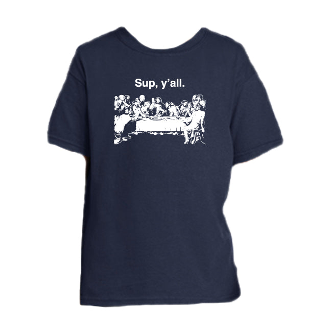 Eucharistic Exhortation - Last Supper Youth T Shirt  © - That One Sheep