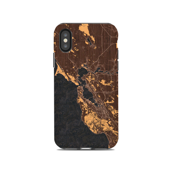 Ember Map Phone Case