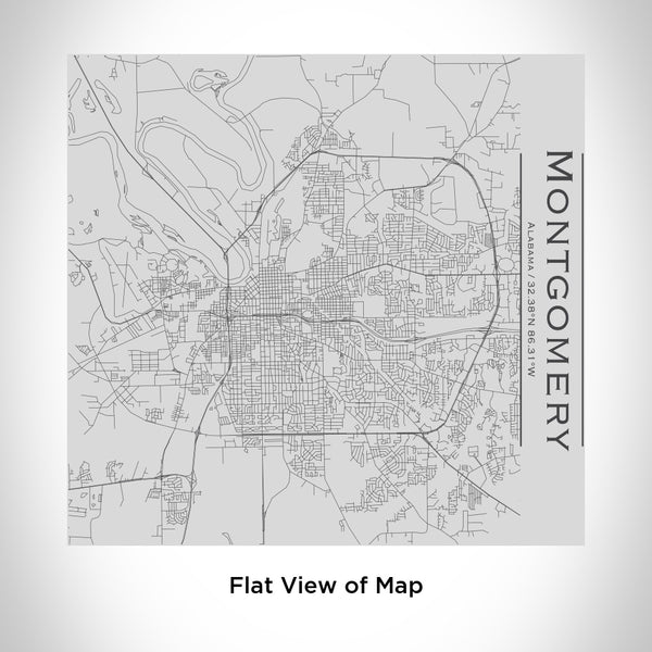 Montgomery - Alabama Map Tumbler