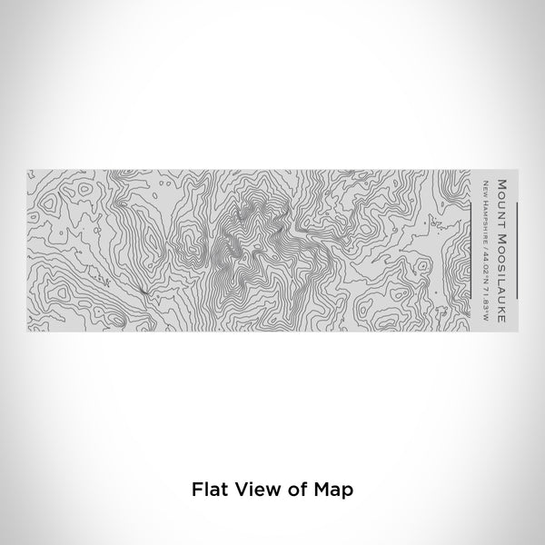 Rendered View of Mount Moosilauke New Hampshire Map Engraving on 10oz Stainless Steel Insulated Cup with Sipping Lid