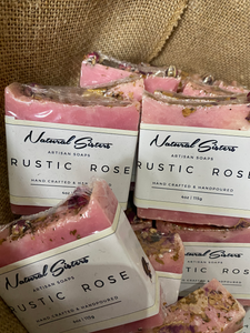 Rustic Rose Cold Process Soap