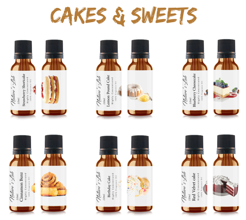 Cakes and Sweets Fragrance Oil Pack