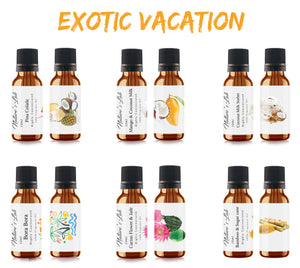 Exotic Vacation Fragrance Oil Package| Fragrance Oil - Exotic Vacation 10ml/.33oz