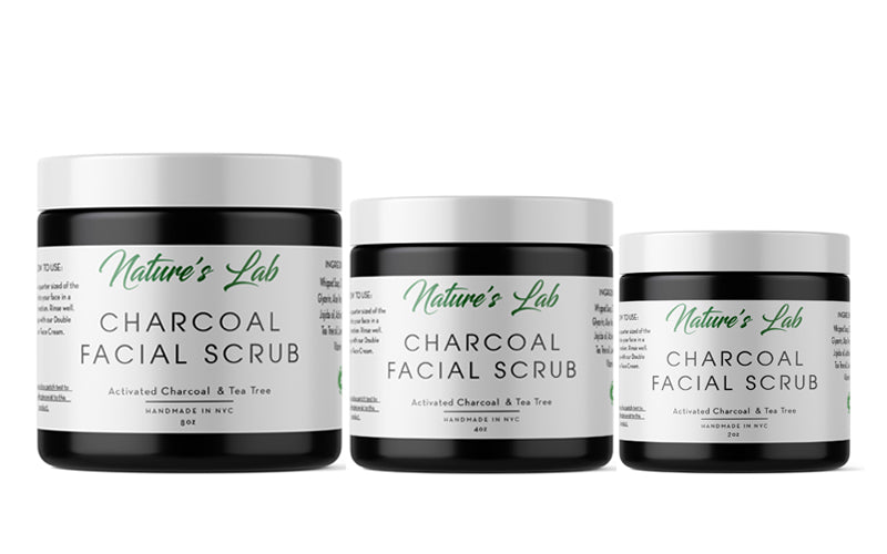 Activated Charcoal Facial Scrub