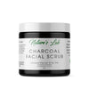 Charcoal Facial Scrub - Activated Charcoal & Tea Tree