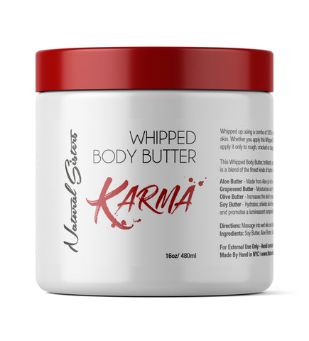 Karma Whipped Body Butter -  8oz