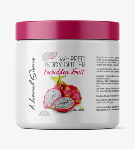 Forbidden Fruit Fruit Whipped Body Butter