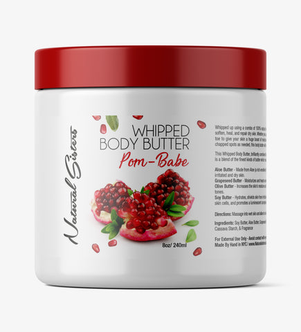 Pom-Babe Whipped Body Butter