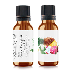 Jasmine, Pineapple and Dragon Fruit Fragrance Oil | Fragrance Oil - Jasmine, Pineapple and Dragon Fruit 10ml/.33oz