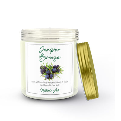 Juniper Breeze Soy Wax Candle