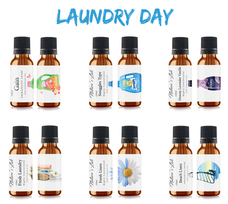 Laundry Day Fragrance Oil 6-Pack