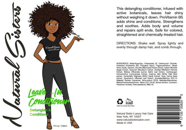 Leave In-Conditioner - Spray - 8oz
