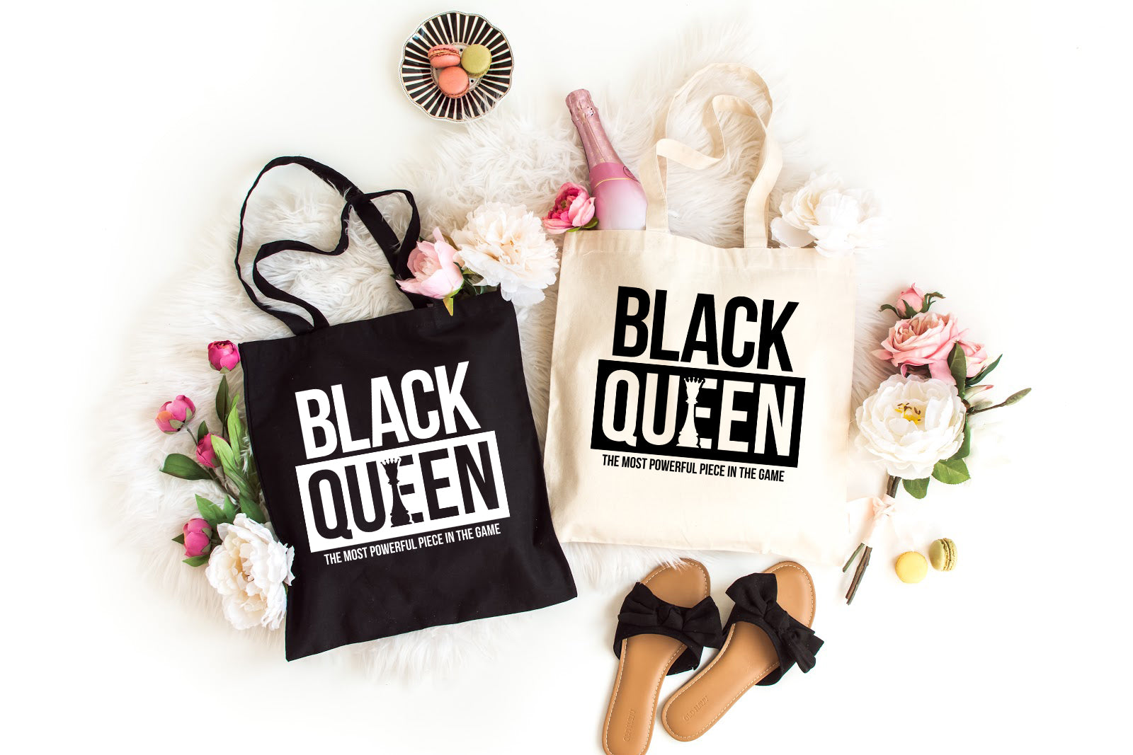 Black Queen | Tote Bag - Made in NYC