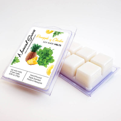 Pineapple and Cilantro Fragranced Soy Wax Melts and Tarts