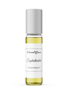 SOPHISTICATED Perfume Oil Roller by Natural Sisters - 5ml | Handmade in NYC