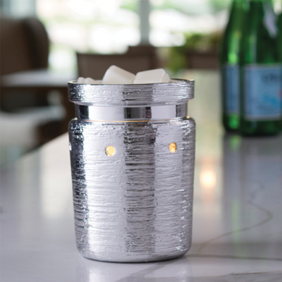 Fragrance Warmer - Brushed Chrome Illumination
