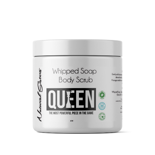 QUEEN Whipped Soap and Body Scrub | 8oz | All Natural- Handmade in NYC