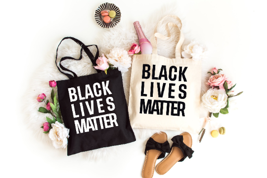 Black Lives Matter Tote Bag | Made in NYC