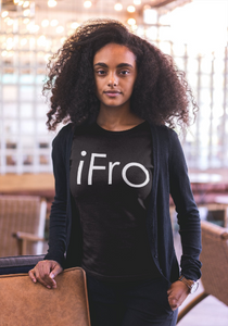 IFRO Afro T-Shirt - Crew Neck - Made in NYC