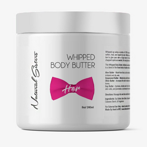 HER Whipped Body Butter | 8oz/16oz | Handmade and Hand-poured in NYC