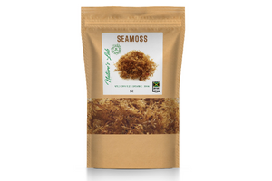 Organic Irish Sea Moss (sun dried) - Made of 100% Pure Wild-Harvested Sea Moss