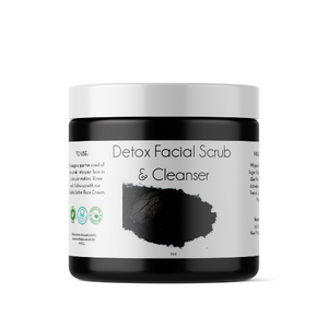 Detox Facial Scrub & Cleanser | 2oz and 4oz | All Natural- Handmade in NYC
